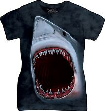 Shark Bite T Shirt Adult Ladies The Mountain