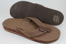 RAINBOW SANDALS PREMIER LEATHER DOUBLE LAYER EXPRESSO BROWN 302ALTS MENS SIZES