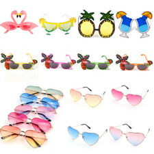Hawaiian Tropical Sunglasses Glasses Summer Party Fancy Dress Hen Party Supplies