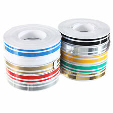 "1/2"" 12mm x 9.8m Double Pin Striping Stripe Vinyl Tape Decal Car Bike Sticker 3U"