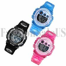 HOT Multifunction Children Boys Digital Sports Cute Watch Kids Date Watch Gift