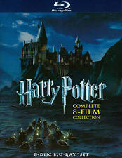 Harry Potter: Complete 8 - Film Collection (2011, 8-Bluray Disc Set)