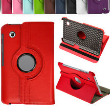 360 Rotate Leather Stand Case Cover For Samsung Galaxy Tab 2 P3100 P3110 7""