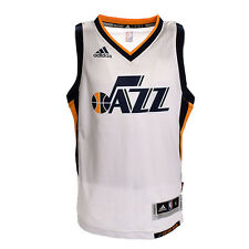 Utah Jazz Youth Wordmark Swingman Jersey (White)