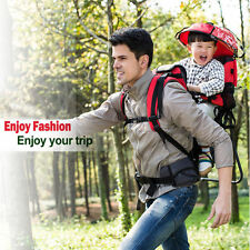 Baby Backpack Carrier Hiking Piggyback Rider Child Toddler Camping Fitness NEW !
