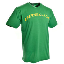 Oregon Ducks Wordmark Distressed T-Shirt (Green)