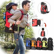 Baby Backpack Carrier Hiking Piggyback Rider Child Toddler Camping Fitness Kids