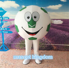 Football Birthday Party Fancy Dress Adult Outfit Soccer Mascot Costume