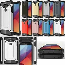Hybrid Shockproof Armor TPU+PC Hard Duty Back Case Cover Skin For LG Cell Models