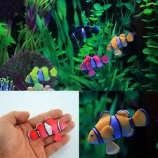 AU Float Fish Toy Fish Tank Aquarium Ornament Home Garden Pond Decor Decal Gifts