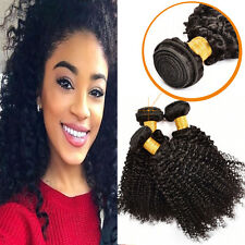 Peruvian Curly Virgin Hair Weave 3 Bundles 300g Kinky Curly Human Hair Extension