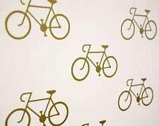 Road Bike / Bicycle Wall Art Vinyl Decals / Stickers - various colours and sizes