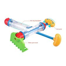 Kids Beach Summer Sand Spray Gun Blaster Dual Water Toy New Sand Water Bath Play