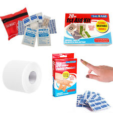 First Aid ~ Kits Plasters Tape ~ Camping Car Home Office Travel Scouts Emergency