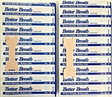NASAL STRIPS (SMALL/MED/LARGE) Breathe Better & Reduce Snoring Right Now