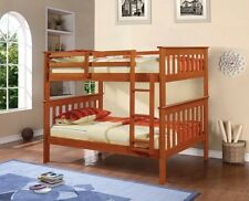 TWIN OVER TWIN BUNK BED - ESPRESSO FINISH
