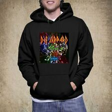 New Def Leppard Poison Tesla Tour 2017 Style Hoodie Tee