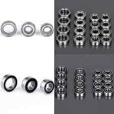 Plastic/Metal Sealed Metric Ball Race Bearing Kit for Tamiya TT02 TT-02 Chassis