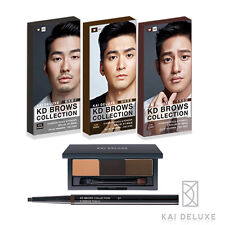 [KAI DELUXE] KD Eyebrow Collection Kit for MEN Eyebrow Pencil and Powder Set NEW