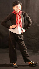 Victorian/Edwardian BLACK WORKHOUSE/URCHIN 2/BEGGAR/SWEEP Costume all Ages/Sizes