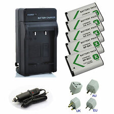 New Battery / Charger for Sony Cyber-shot DSC-HX50V/B, DSC-HX60V/B, DSC-HX90V/B