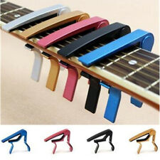Quick Change Electric Classic Guitar For Acoustic Silver Clamp Clamp Key Capo