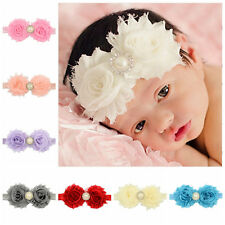 Fitting Cute Hair Band Lace Headband Baby Pearl New 1Pcs Flower Girl