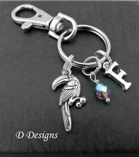 Toucan Bag Charm, Personalised Toucan Keyring