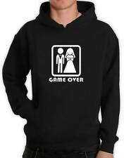 Game over Funny adults Hoodie wedding stag night gift present