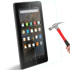 "Real Amazon Kindle Fire HD 7""/8 6th Gen Tempered Glass HD Film Screen Protector"