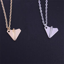 Paper Airplane Pendant Fashion Necklace One Direction Band Harry Styles Men