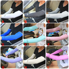 Arm Warmer Cuff Sleeve Cover Cycling Riding UV Sun Protection Outdoor Sports