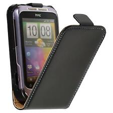 Case for HTC Wildfire S Flipcover Flip-Case  + protective foils