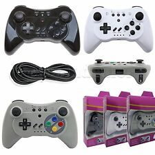 Wireless Bluetooth Pro Controller Gamepad Game-play Joystick for Nintendo Wii U
