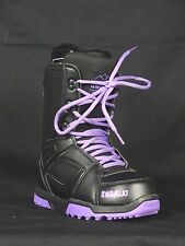 32 Thirty Two Womens Exit Black and Purple Snowboard Boot 5, 7, 8