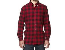 CHAPS Men's Big & Tall Classic-Fit Plaid Flannel Button-Down Shirt NWT