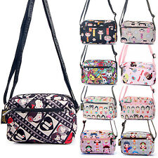 Women Mini Nylon Messenger Crossbody bags Handbag Coin Phone Purse Wallet Cute