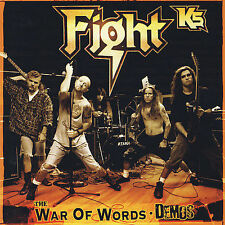 War of Words: Demos [PA] by Fight K5/Fight (CD, Nov-2007, Metal God Entertainmen
