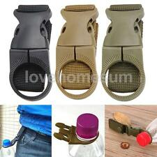 Outdoor Camping Molle Hanging Strap Webbing Buckle Clip Water Bottle Hook Belt