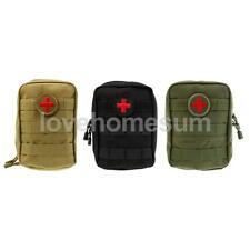 First Aid Tactical EMT Pouch Medic Paramedic Military Molle Utility Pouch