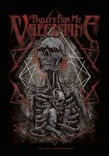 * BULLET FOR MY VALENTINE - SKELETON LOGO - OFFICIAL TEXTILE POSTER FLAG
