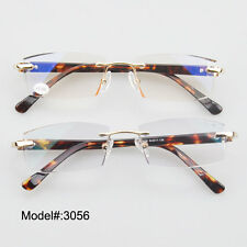 3056 rimless unisex trimming reading eyeglasses WITH ADD:+100~+400