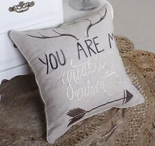 Pillow Cover You Are My  Throw Cushion Embroidered Pillow case Decorative