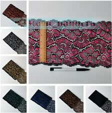 10/20 yards Large Embroidered Edging Lace Trim Edge Ribbon Retro Making Sewings