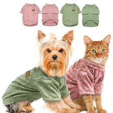 Dog T-Shirt Pet  Dog Cat Clothes Apparel for Yorkshire Poodle French Bulldog