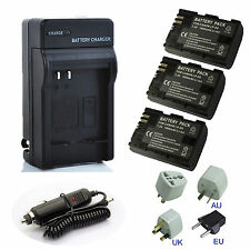 LP-E6 LPE6 Battery / Quick Charger  for Canon EOS 5D2 5D3 7D 60D LC-E6E LP-E6N