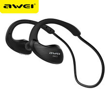 AWEI Bluetooth Headphones Sport Wireless Earphone Bluetooth Headset With Mic