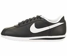 Nike Men's NIKE CORTEZ BASIC LEATHER '06 CASUAL SHOES (BLACK/WHITE)