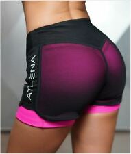Women's Fitness Shorts Compression Quick Drying Yoga Jogging Gym Weight Lifting