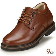 Casual Height Increasing Shoes Elevator Make Men 2.7Inches Taller